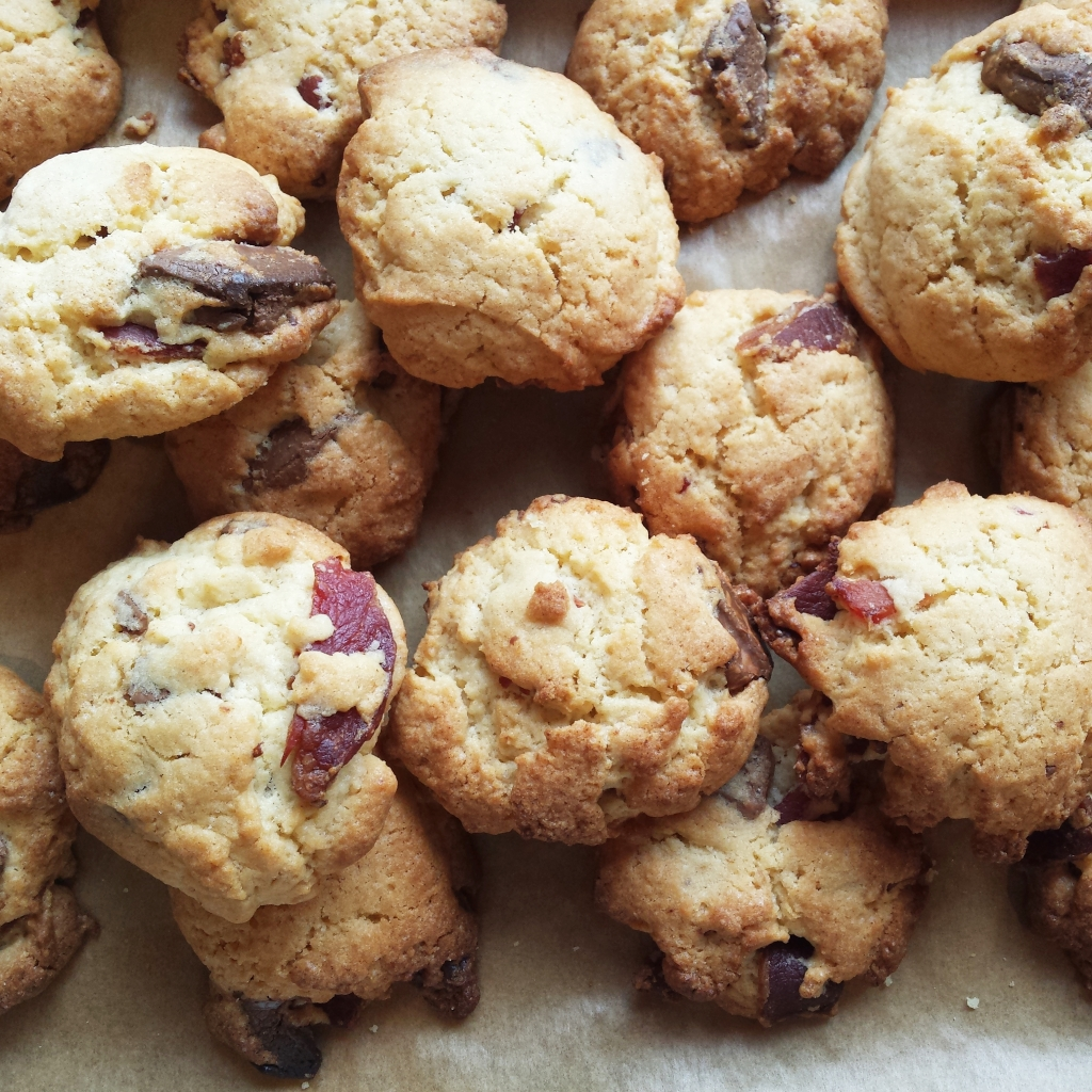 bacon chocolate cookie