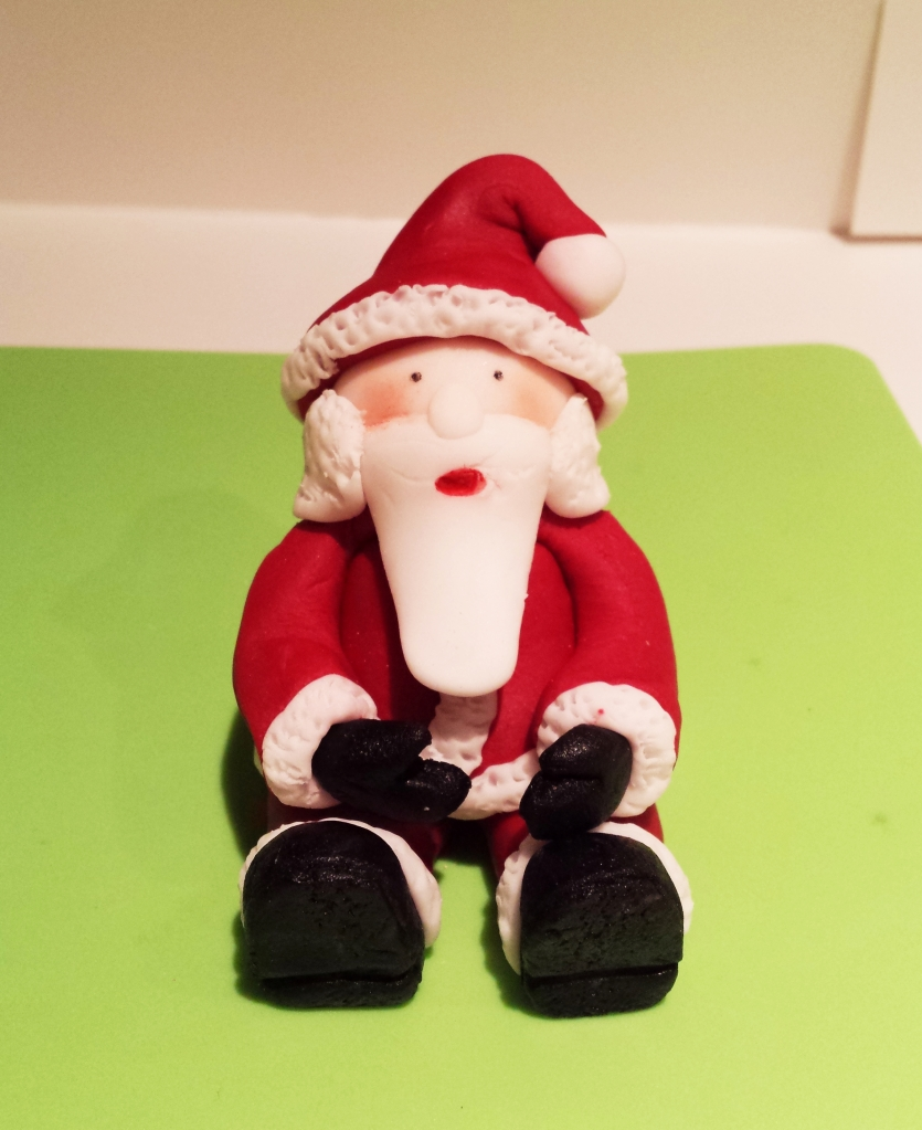 Sugar Modelling Father Christmas