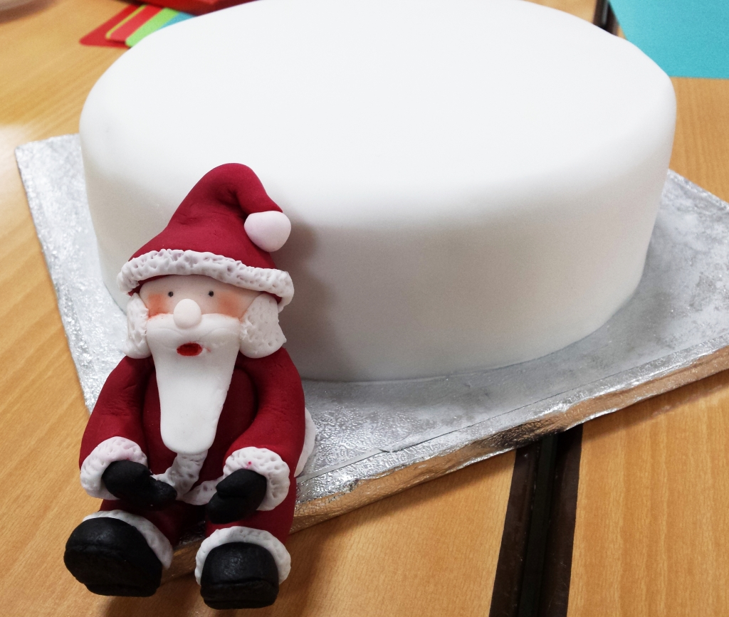 Novelty Christmas cake