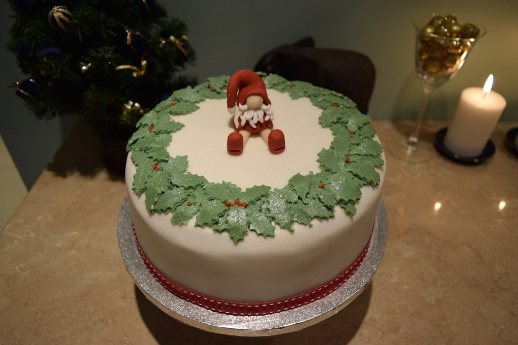 Christmas Cake Decoration 2015.1