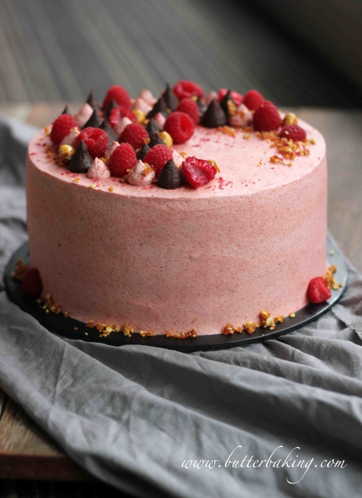chocolate-raspberry-cake