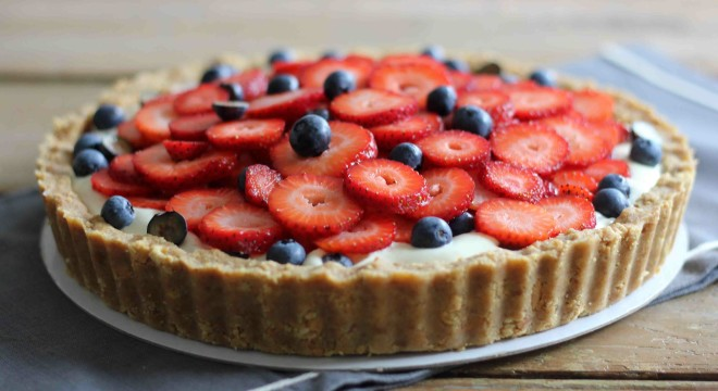 no-bake-berry-cheesecake