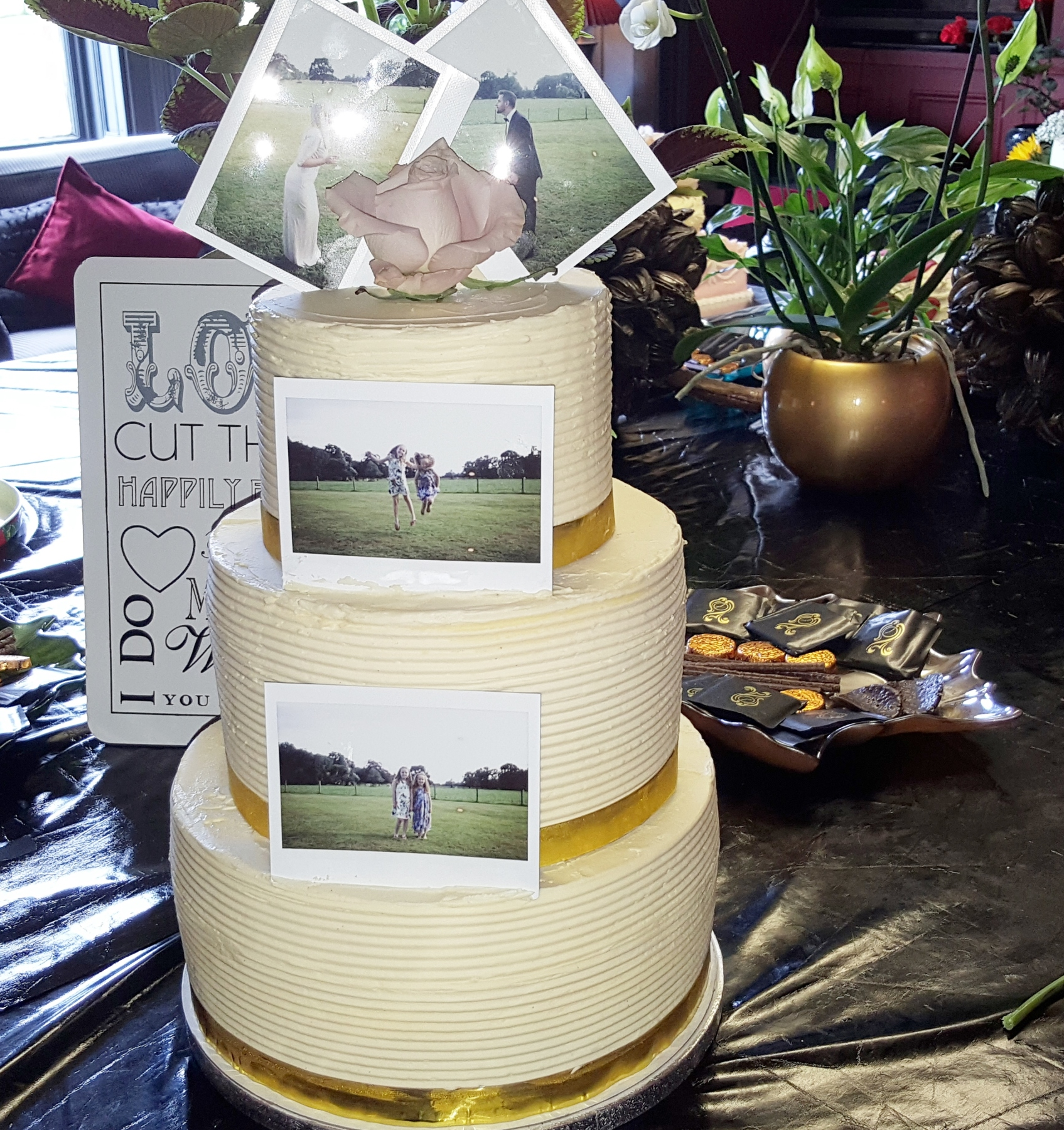swiss meringue buttercream wedding cake no