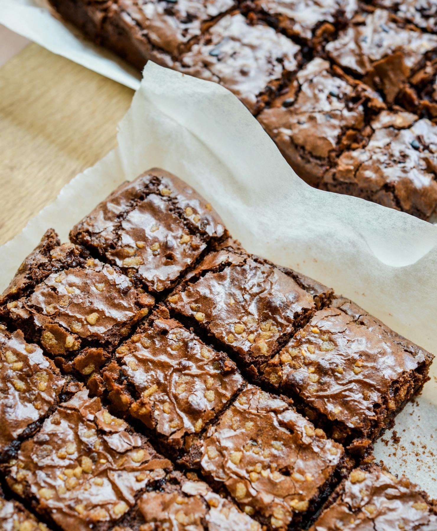 Brownies Tray Shot